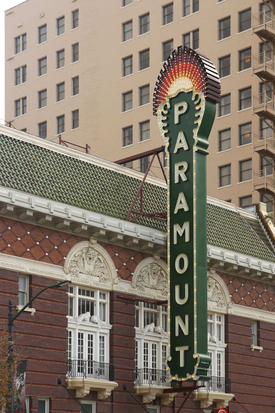 Click thumbnail to see details about photo - Austin Texas Paramount Sign