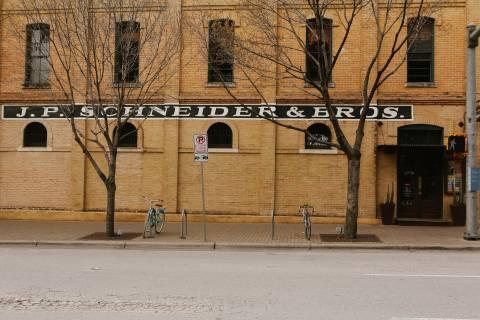 A photo of JP Schneider Wall Mural Austin Texas