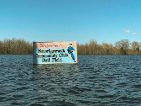 A photo of saint john flooding 2018
