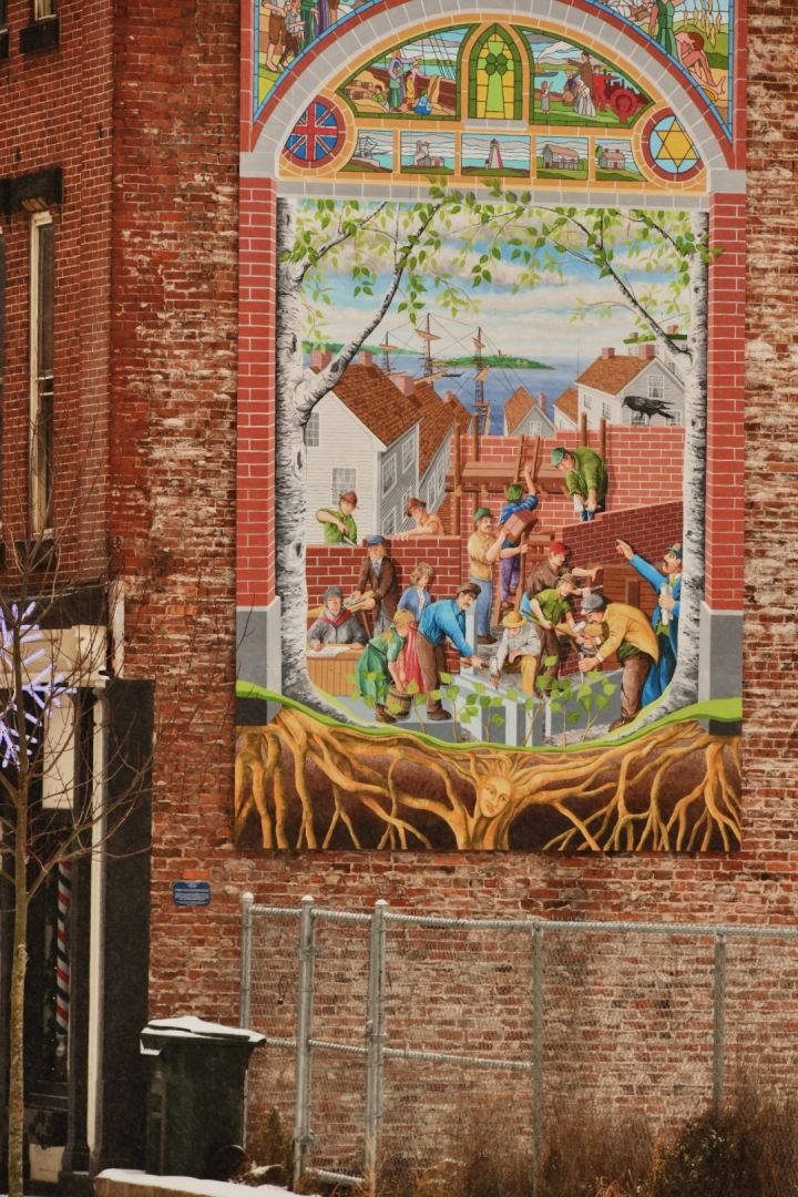 A photo of Mural on Prince William Street
