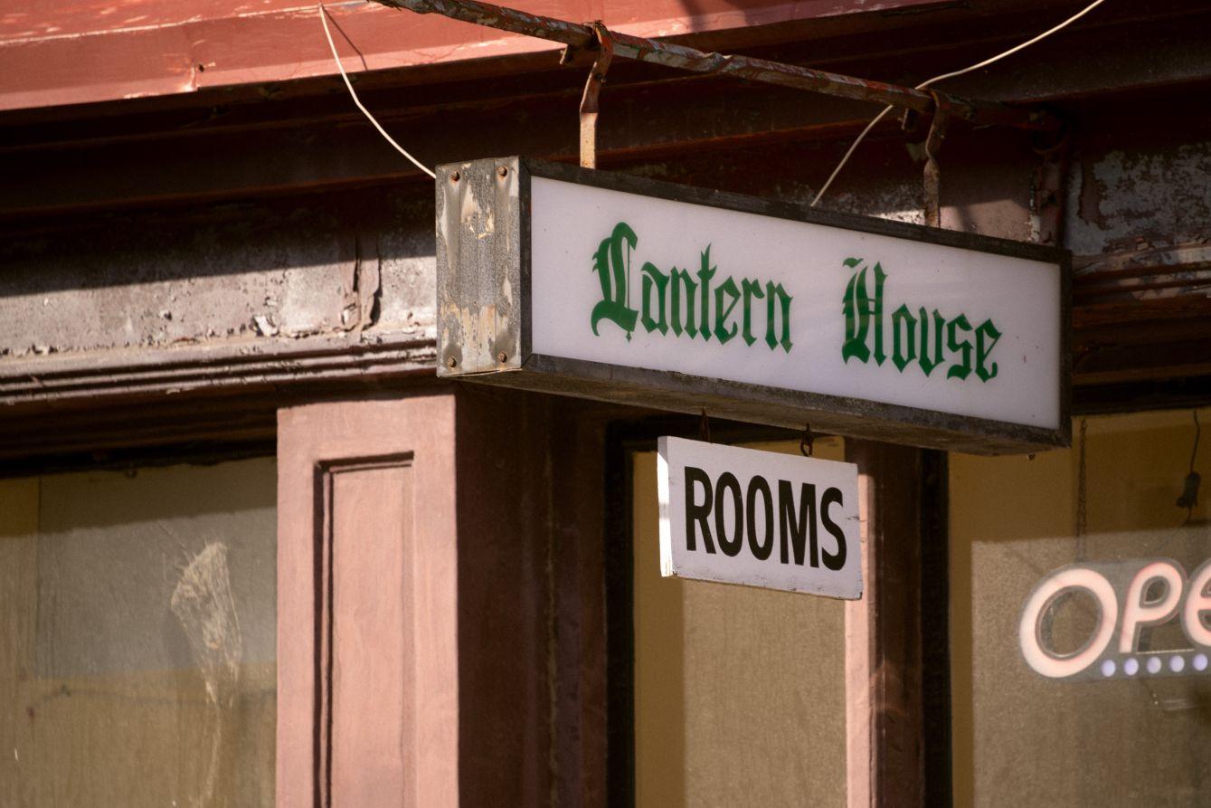 Click thumbnail to see details about photo - Lantern House Sign Saint John