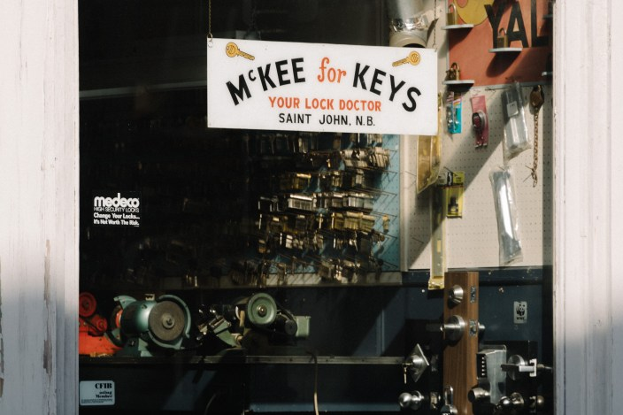 McKee for Keys Window Princess Street Saint John