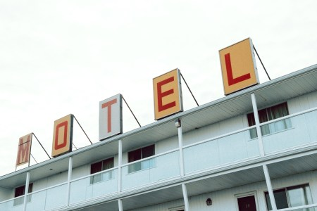 A photo of Motel Saint John Sign