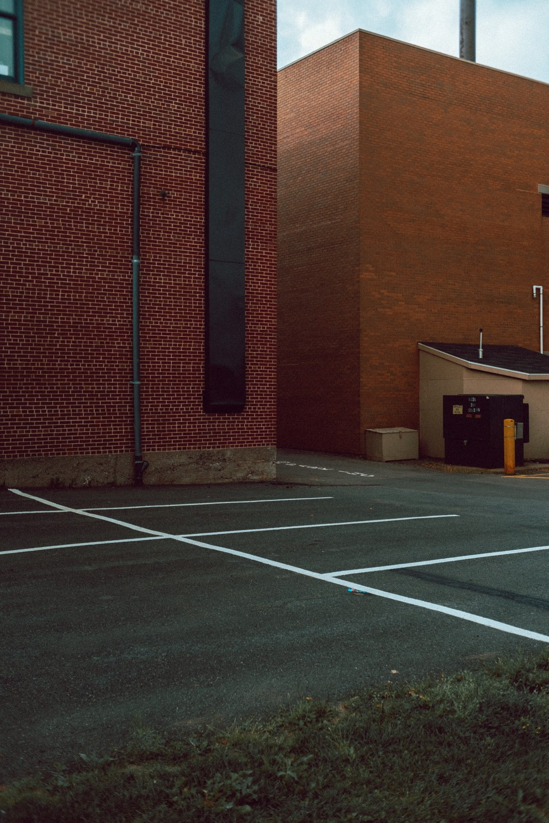 A photo of Back Parking Lot Charlottown PEI