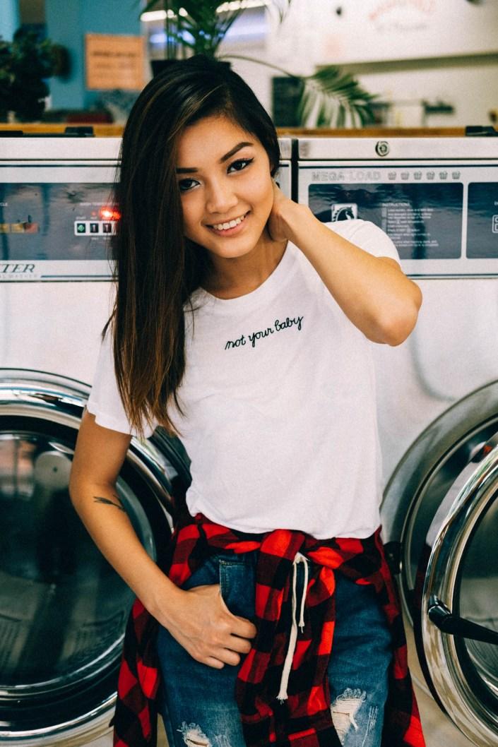 laundromat portraits