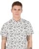 Slim Beach Print Short Sleeve Shirt