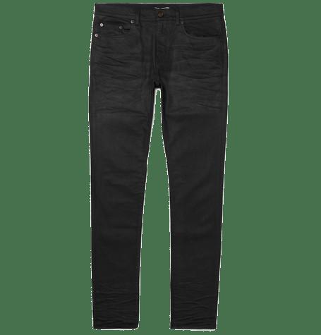 st laurent skinny fit jeans