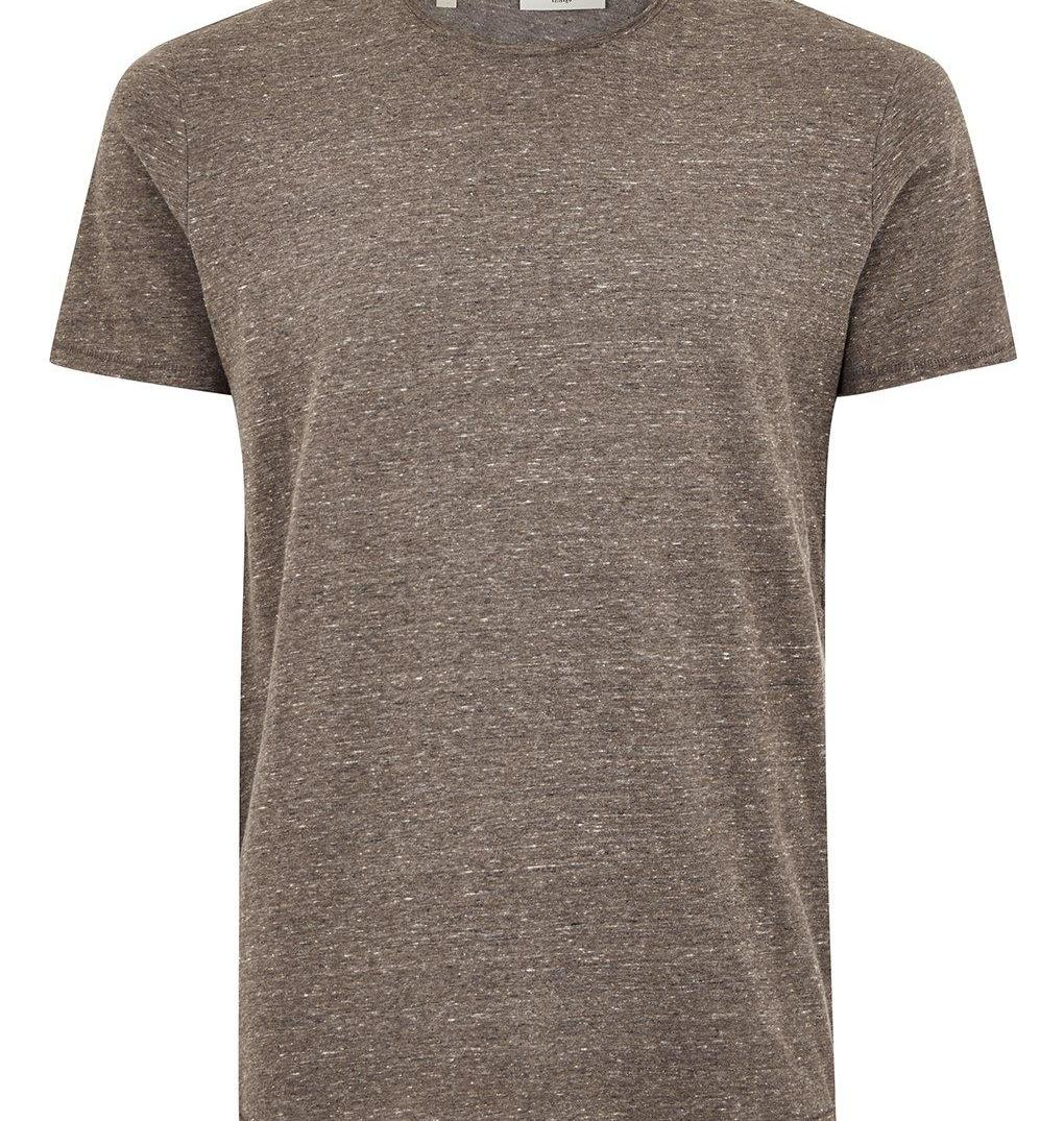 SELECTED HOMME Brown T-Shirt Topman