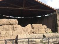 The ruins of the Temple of Julius Caesar