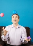 Mike Clayton, Speaker and Author, juggling