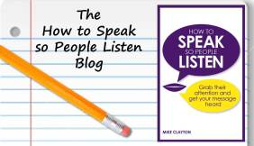 The How to Speak so People Listen Blog