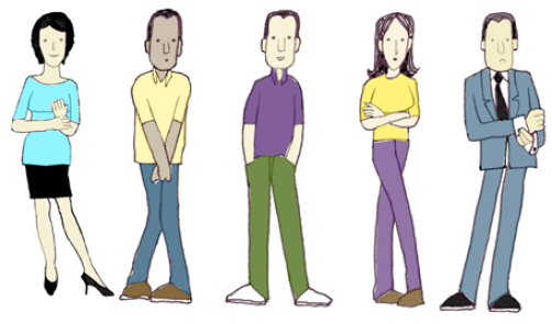 Five Poor Speaker Postures - from How to Speak so People Listen