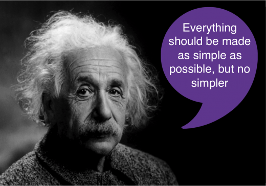 Einstein Quote: 'Everything should be made as simple as possible, but no simpler.' This is Mike Clayton's approach to his management writing, conference keynotes, and business seminars.