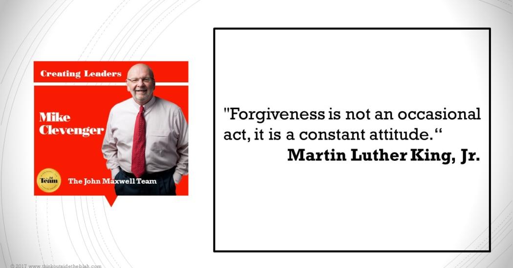 TOB King forgiveness