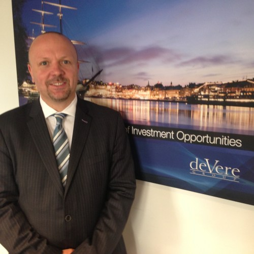 Jack Kerswell, deVere Group Area Manager, Basel and Bern, Switzerland