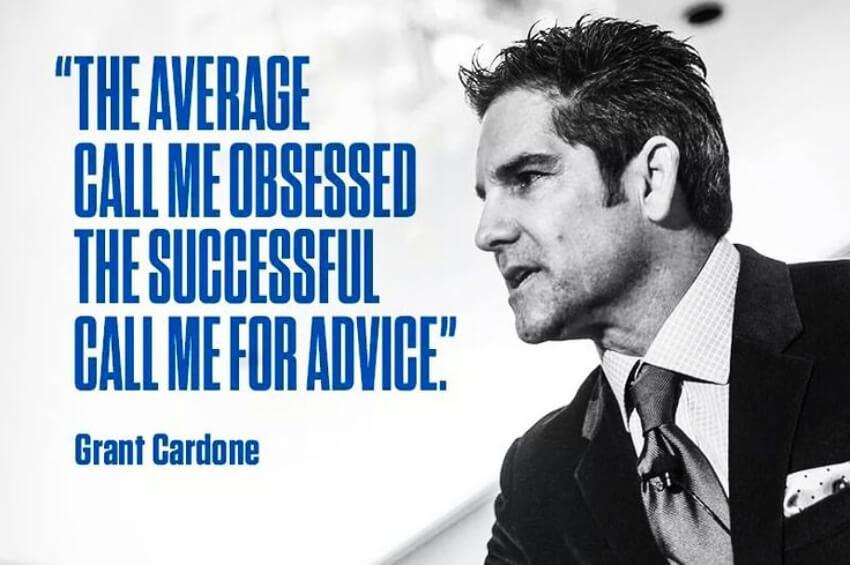 Grant Cardone easy steps