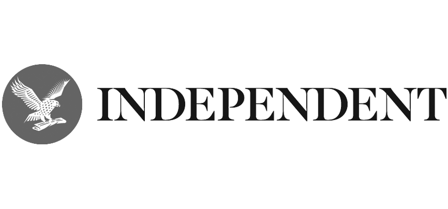 The Independant Logo Grey
