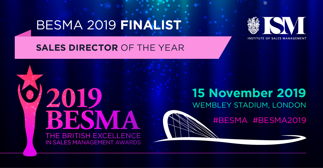 BESMA finalist for Sales Director of the Year