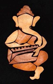 Ganesh w. harmonium