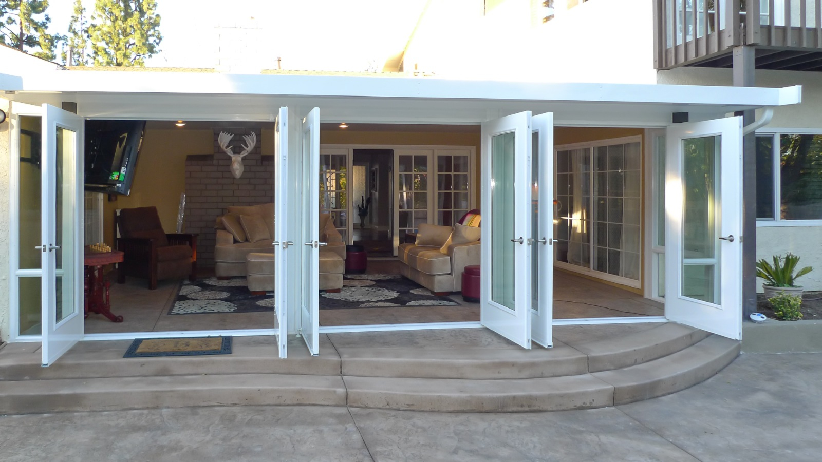 Enclosing A Patio Ideas • Patio Ideas on Enclosed Back Deck Ideas id=33968