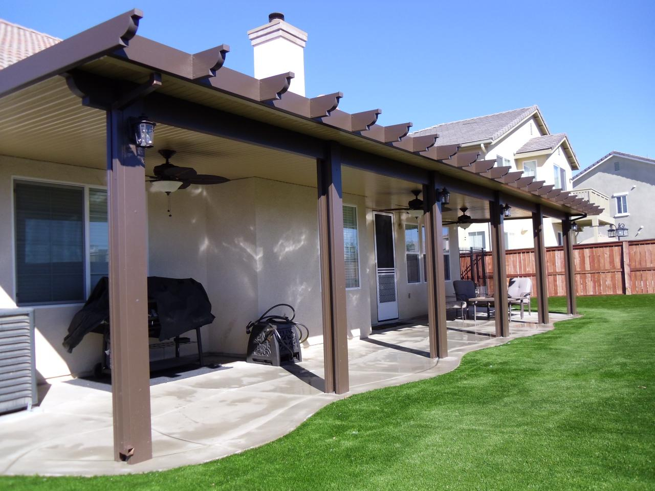 Alumawood Patio Covers Pros And Cons • Patio Ideas on Patio Cover Ideas Wood id=96572