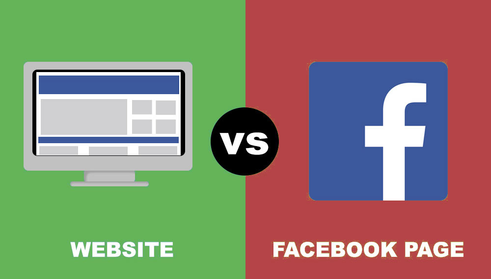Is Facebook the new business website?