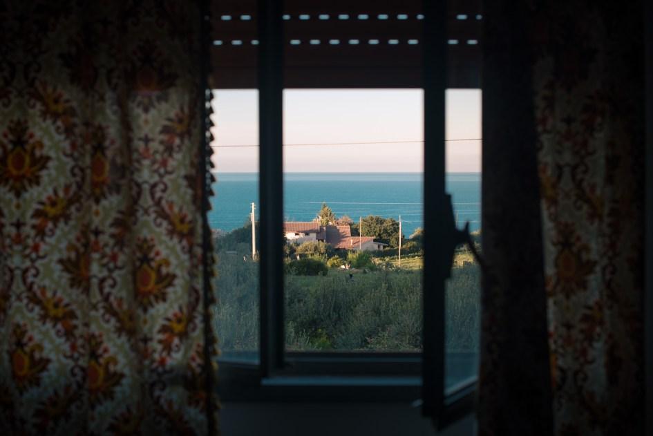 View from my Zia Anna's house in campagna , Castellammare del Golfo, Sicilia.