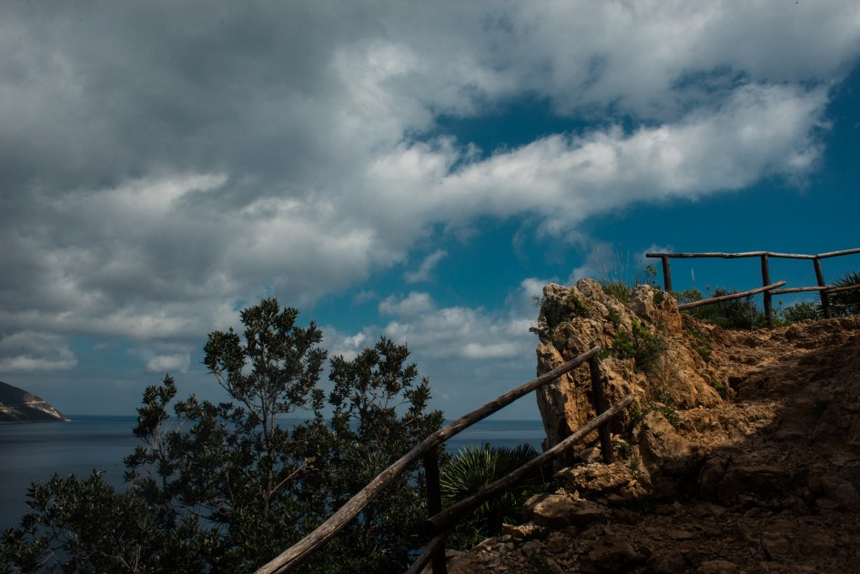 Landscapes in the Zingaro nature reserve , Castellammare del Golfo, Sicilia.