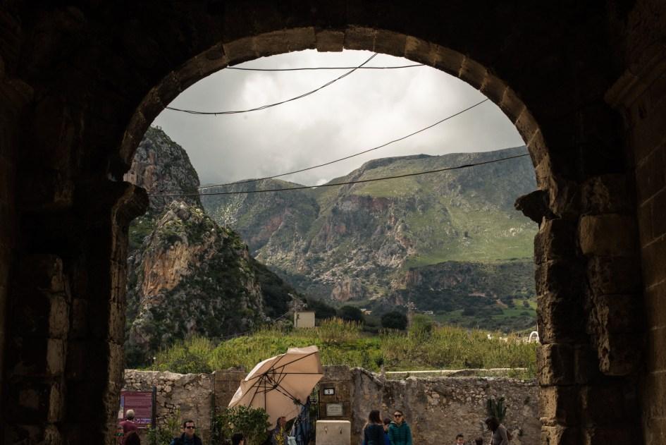 View from Scopello, Sicilia.
