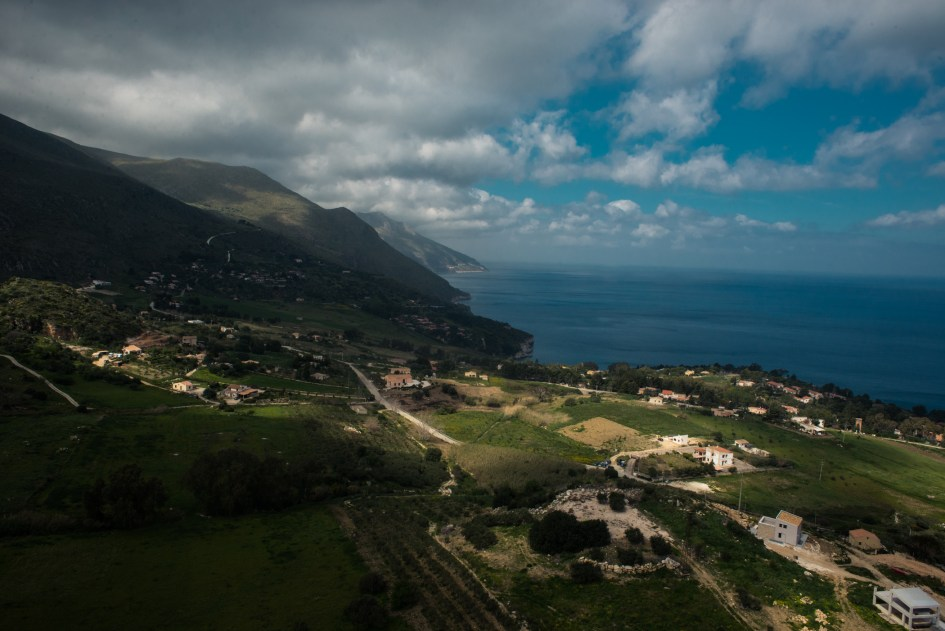View from Torre Bennistra, Scopello, Sicilia.