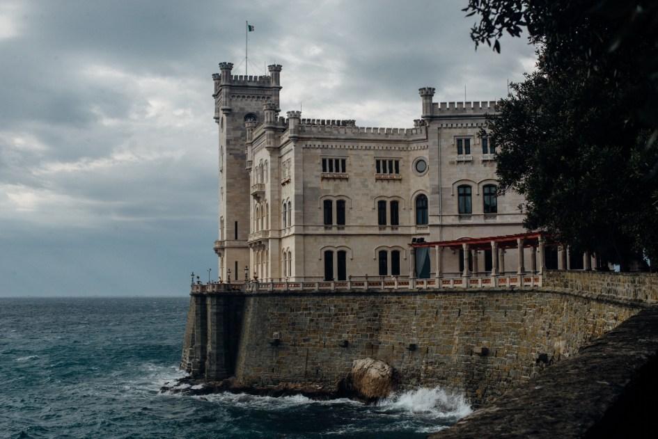 Trieste, Castello Miramare.