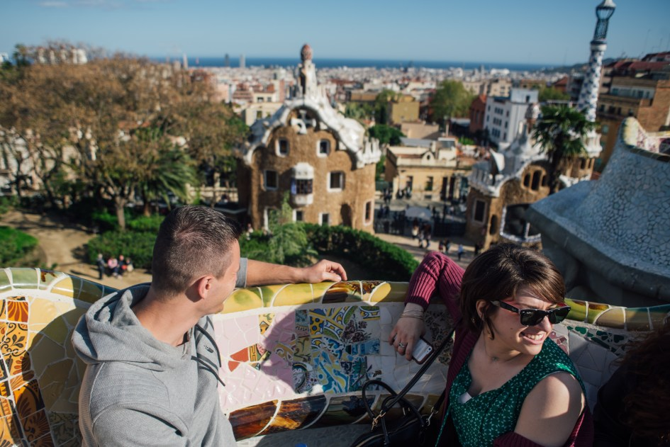 Barcelona, Spain – Weekend in Barcelona with Mark, Dana and Carly. - Park Guell