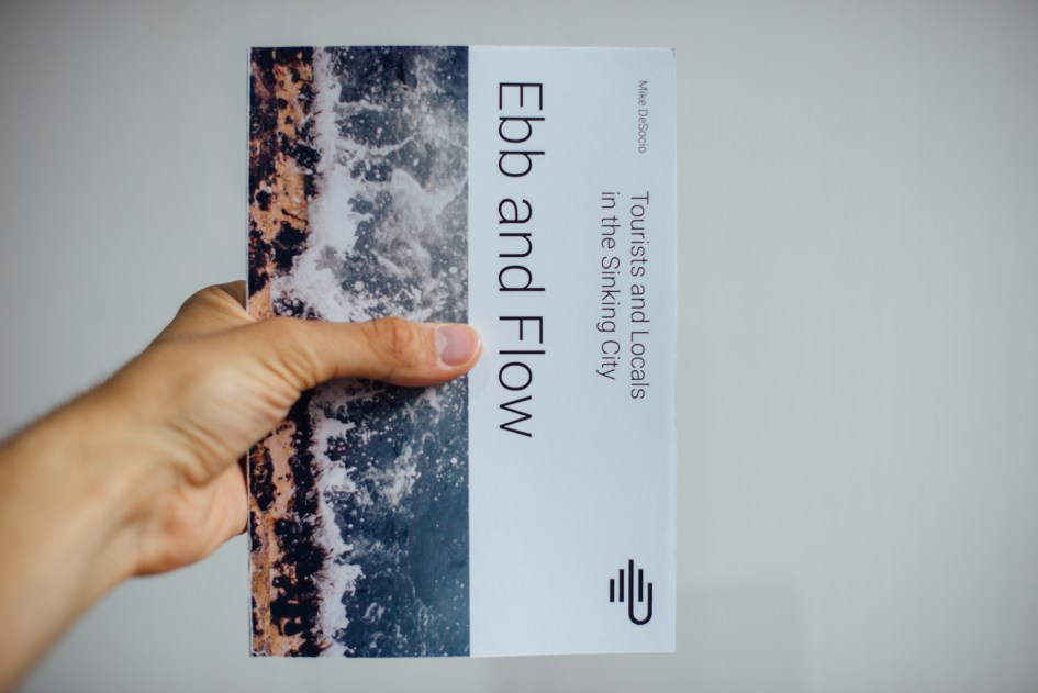 "Cover of ""Ebb and Flow,"" my final book project."