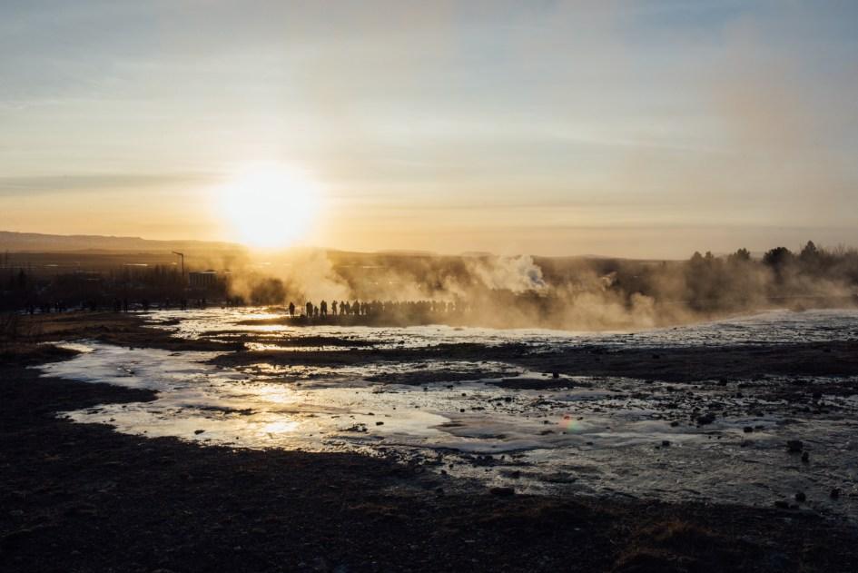 Strokkur Geysir, Iceland.