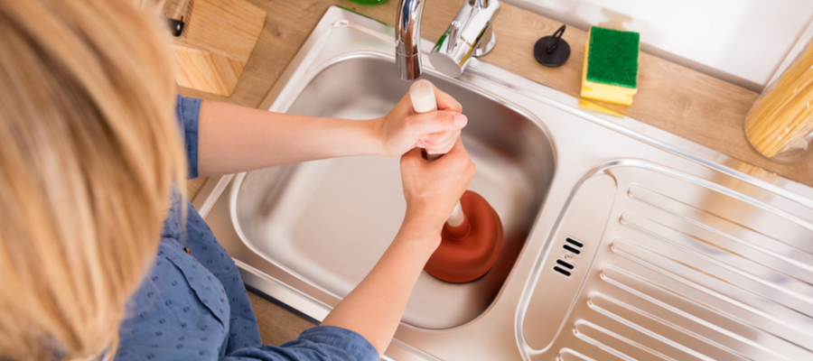 how to clear up a sluggish drain fast