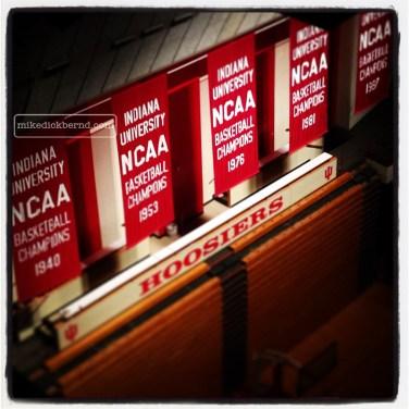 IU Basketball Banners