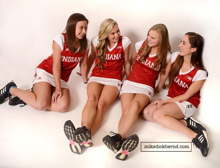 IU Women's Tennis Team