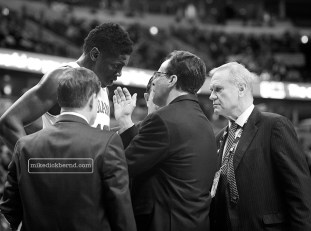 Tom Crean and Hanner Mosquera-Perea