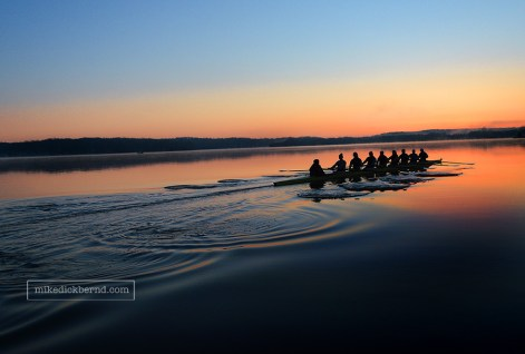 IU Rowing, sunrise