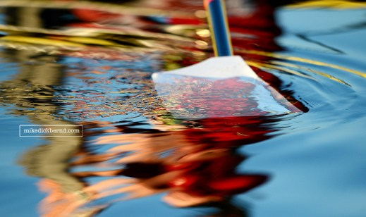 Oar reflection