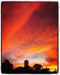 Fort Ben sunset