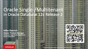 New feautures Multitenant 12.2