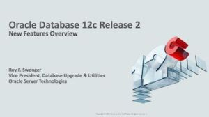 New Features Oracle 122