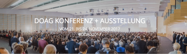 Slides and Recap - DOAG 2017 and UKOUG 2017