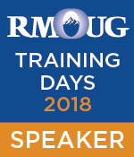 RMOUG Training Days in Denver - just 4 weeks away