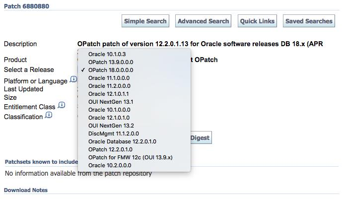 Why should you use the most recent version of OPatch?