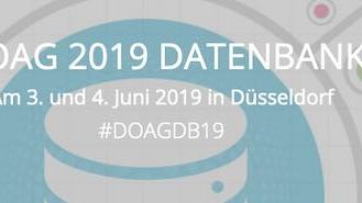 DOAG Datenbank 2019: Roy will be there!