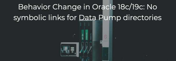 Data Pump Archives – Upgrade your Database - NOW!