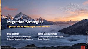 Web Seminar 5 - Migration Strategies 13-Oct-2020