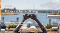 Release Strategy and Patching - 2-FEB-2021